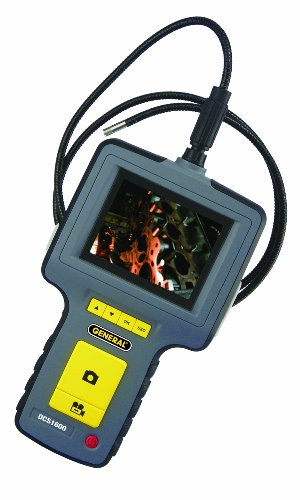 General Tools DCS1600 High Performance Data Logging Video Borescope System