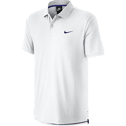 Nike Matchup-Polo da uomo, colore: bianco/blu, taglia: XXL (taglia del produttore: XXL)