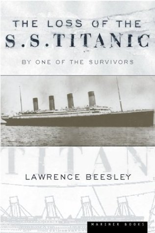 Large book cover: The Loss of the S.S. Titanic: Its Story and Its Lessons