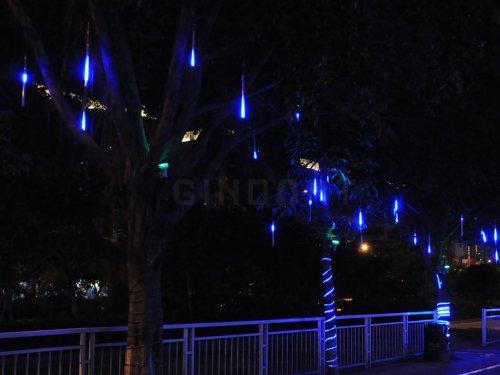 Egoodbest Meteor Shower Rain Led Light Tube String Lights Decoration Tree Party Valentine Romantic