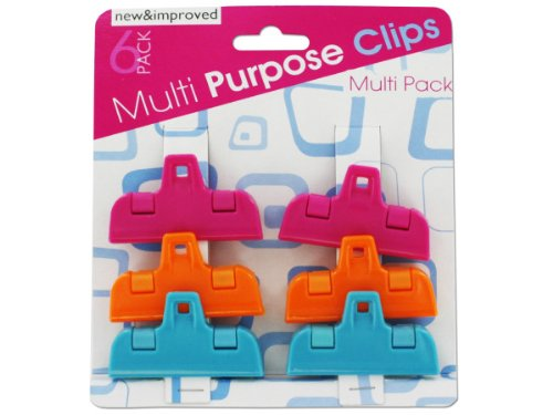 Small multi-purpose clips (1 Pack of 48)