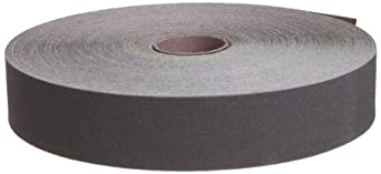"3M Utility Cloth Roll 211K, Aluminum Oxide, 1-1/2"" Width x 50yd Length, 100 Grit (Pack of 1)"