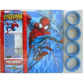 Spider Man Shower Curtains Shower Curtains Outlet