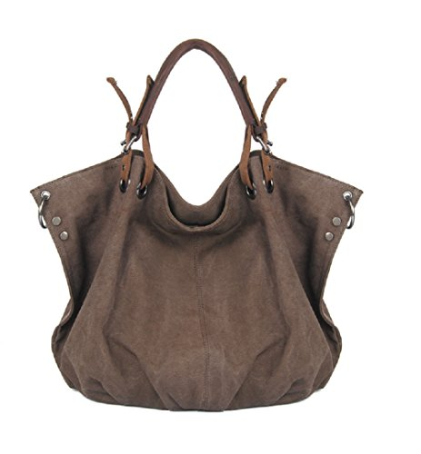 nasis-womens-casual-canvas-everyday-purse-oversized-hobo-water-resistant-shoulder-bag-al4029-coffee