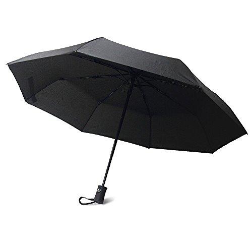 Innoo Tech Parapluie pliant résistant au vent testé à 90 km/h- Parapluies de voyage