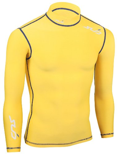 Sub Sports COLD Men's Thermal Compression Baselayer Long Sleeve Top (Mock Neck)