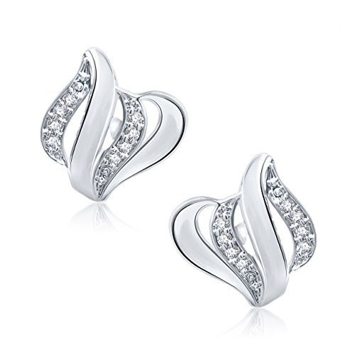 Meenaz-Silver-In-American-Daimond-Cz-Stud-Earring-For-WomenGirls-T149
