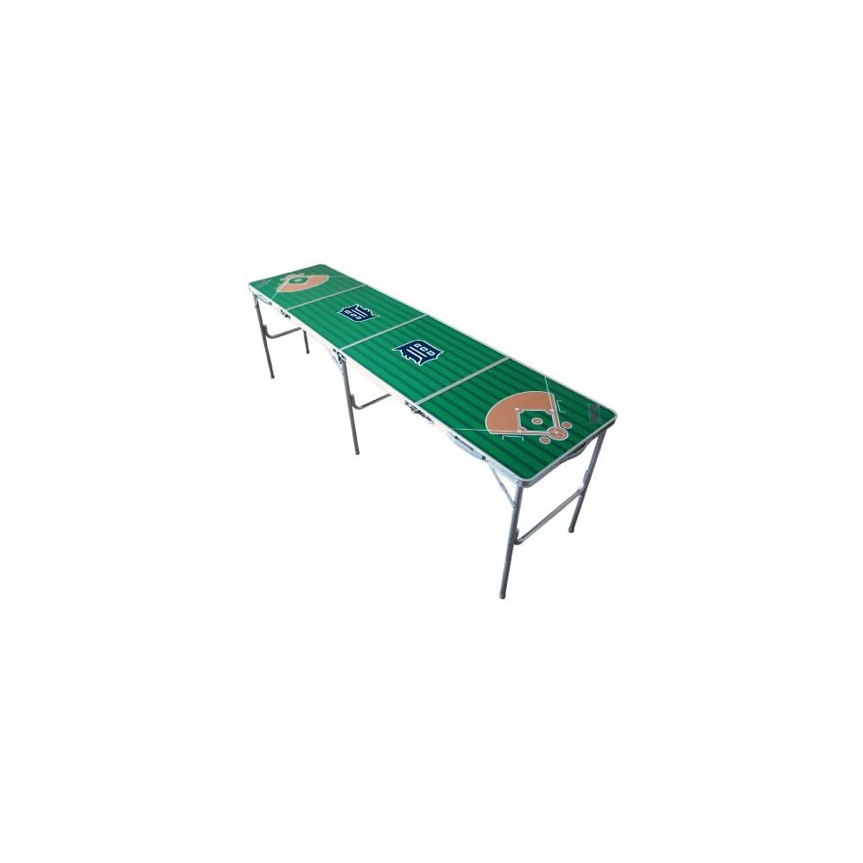 MLB Detroit Tigers Tailgate Ping Pong Table With Net