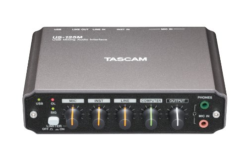 Tascam Us-125M Channel Audio Interface