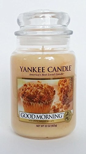 Yankee Candle Good Morning 22 oz Large Housewarmer Jar