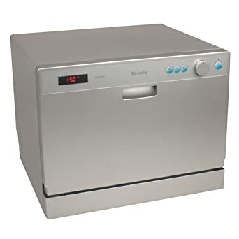 ... Place Setting Countertop Portable Dishwasher - Silver: Appliances