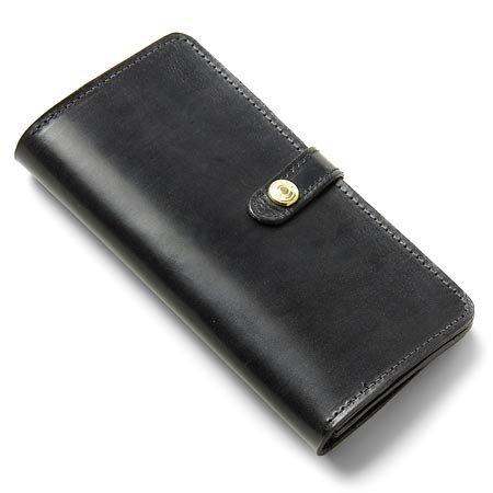 (グレンロイヤル) GLENROYAL 長財布[小銭入れ付き] BRIDLE LEATHER BLACK ブラック [並行輸入品]