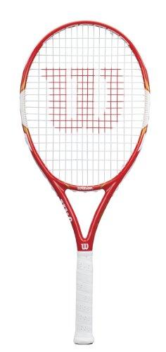 WILSON Federer Team 105 Racchetta da Tennis Adulto, G3 = 4 3/8