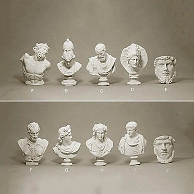 Creative Miniature Head Portrait And Modelings front-999207