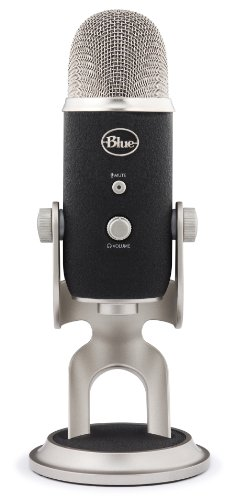 Blue Microphones Yeti Pro USB Condenser Microphone, Multipattern