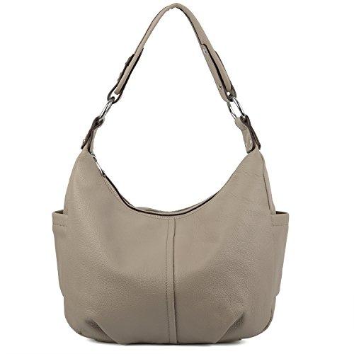 yaluxe-femme-hobo-sac-porte-epaule-bandouliere-cuir-veritable-elegant-grand-capacite-gris-vinatage