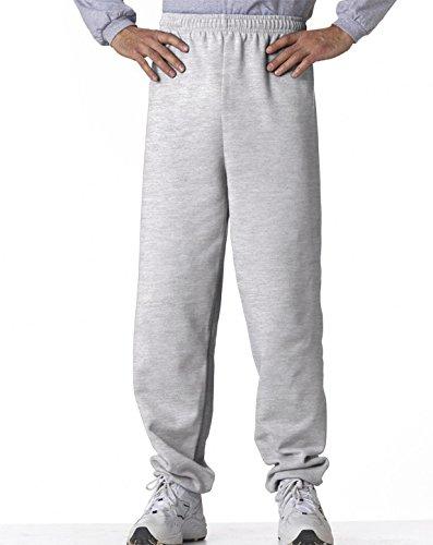 Gildan Adult 7.75 oz. Heavy Blend 50/50 Sweatpants in Ash - Small