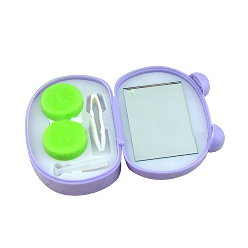 XUKE Animal Cat Contact Lens Case Box Kit Set With Small Mirror JUA979