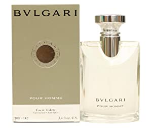 Bvlgari By Bvlgari For Men. Eau De Toilette Spray 3.4 Ounces