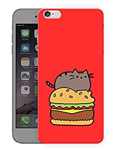"Humor Gang Hungry Fat Cute Cat Printed Designer Mobile Back Cover For ""Apple Iphone 6 Plus - 6s Plus"" (3D, Matte, Premium Quality Snap On Case)"