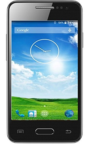 GB® S5H4 3G 4 inch unlocked dual SIM android smart phone (Black) discount price 2016