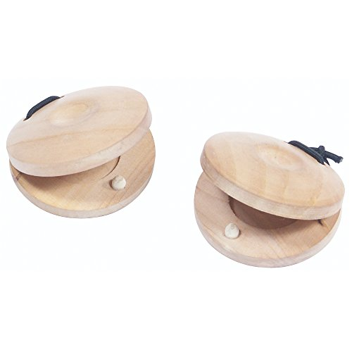 Performance Percussion PP6004 Wooden Finger Castanets (Pack of 2)