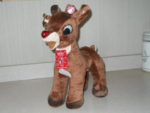 2013 Singing Rudolph the Red Nosed Reindeer Stuffed Toy