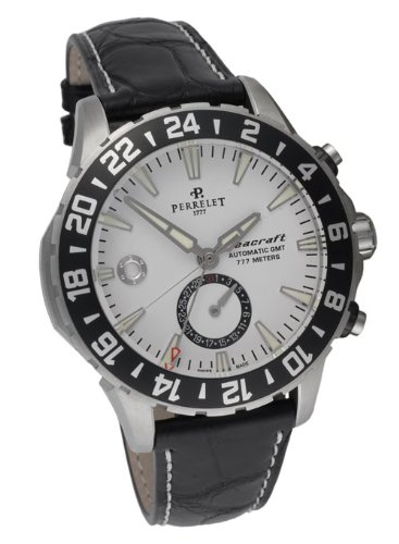 Perrelet Diver Seacraft GMT Men's Luxury Watch A1055/1