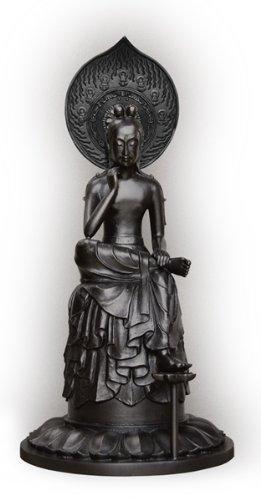 【小サイズ】 国宝 中宮寺 菩薩半跏像 (奈良斑鳩 中宮寺 弥勒菩薩 仏像)