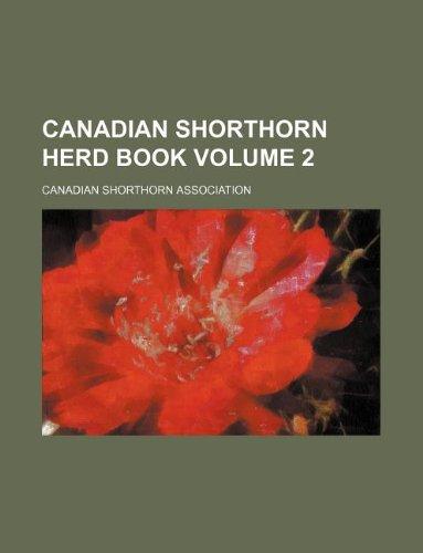 Canadian Shorthorn herd book Volume 2