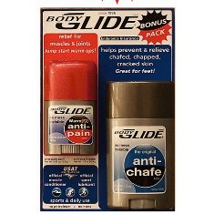 BodyGlide Bonus Pack - 1.3 Anti-Chafe with .45oz WarmFX Anti-Pain balm