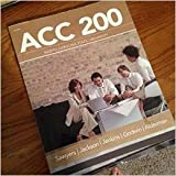 img - for ACC 200 Managerial Accounting, 2nd Edition (Custom for North Carolina State Univeristy book / textbook / text book
