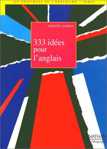 333 idées pour l'anglais