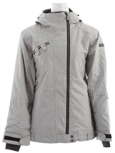 Ride Seward Snowboard Jacket Rail Stripe Womens Sz S
