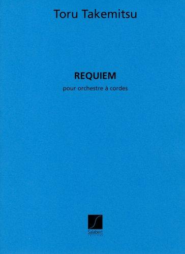 武満 徹 : 弦楽のためのレクイエム/サラベール社大型スコア