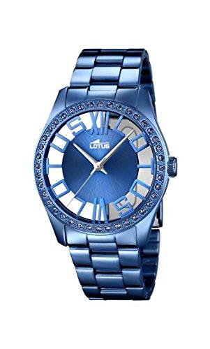 Lotus - Men Watch - Blue Stainless Steel - 18251/1