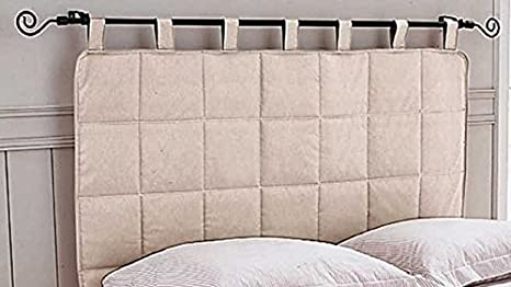 Cushion Modern Hanging directly to the wall in Fabric