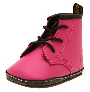 Dr.Martens Auburn Pink Leather Infants Boots
