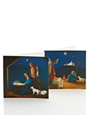 20 Cute Religious Christmas Multipack of Cards