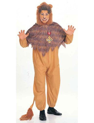 Wizard Of Oz Cowardly Lion Adult Adult Mens Costume