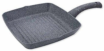 Wonderchef Granite Grill Pan, 24cm