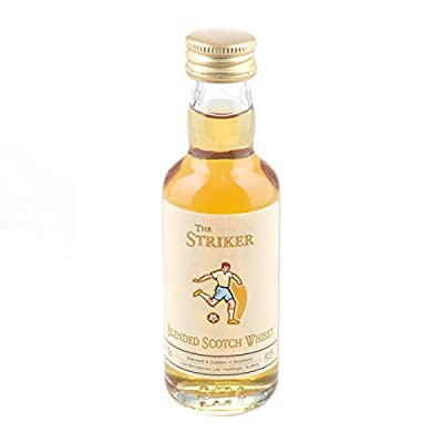 The Striker Scotch Whisky 5cl Miniature - 12 Pack by Just Miniatures
