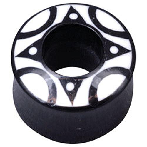 Water Buffalo Horn - Halo Flesh Plug 20mm