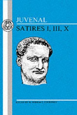 Satires I, III, X