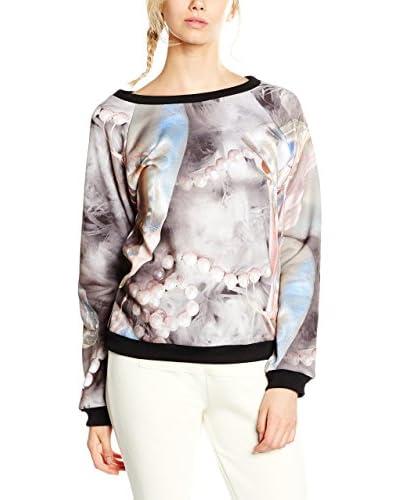 Dimensione Danza Sweatshirt All-Over mehrfarbig/schwarz