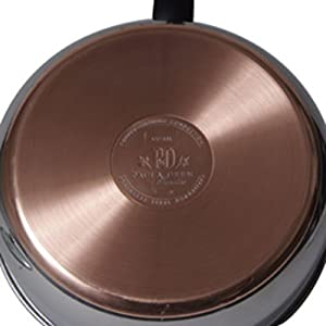 Paula Deen Signature Stainless Steel 4-Quart Covered Saute Pan