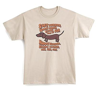 Unisex-Adult Soft Weiner Warm Weiner Little Ball Of Fur Dachshund T-Shirt