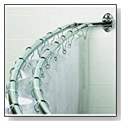 Double Curved Adjustable Shower Rod