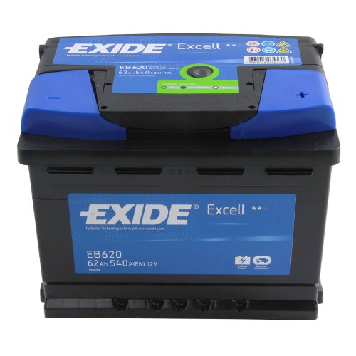 Exide Excell EB620 62Ah Autobatterie wartungsfrei