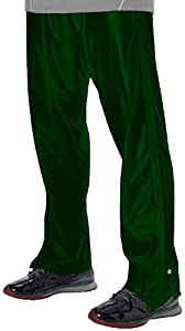 Buy Alleson Youth Basketball Breakaway Warm-Up Pants DG - DARK GREEN YL by Alleson Athletic